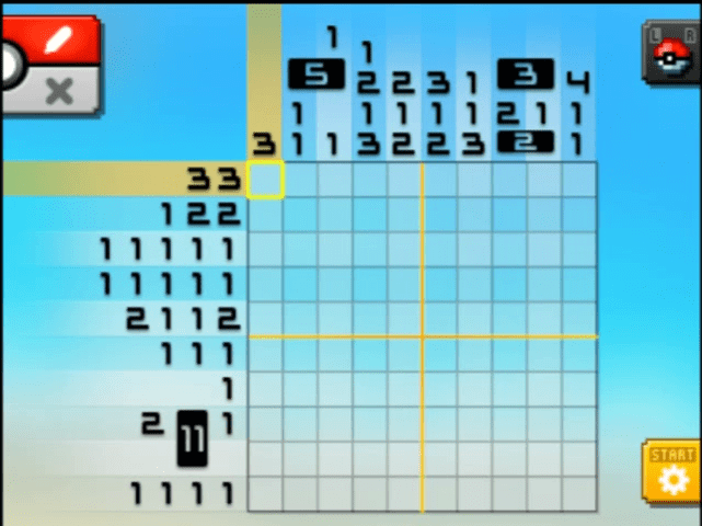 S02 04 a02 03 froakie pokemon picross walkthrough gogo for Mural 01 pokemon picross