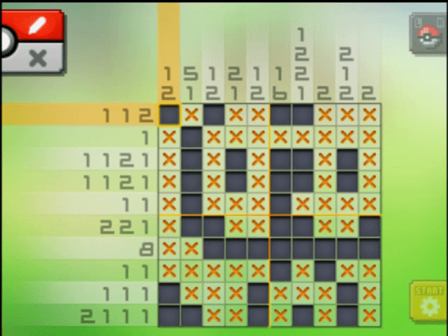 S03 04 a03 02 klefki pokemon picross walkthrough gogo for Mural 01 pokemon picross