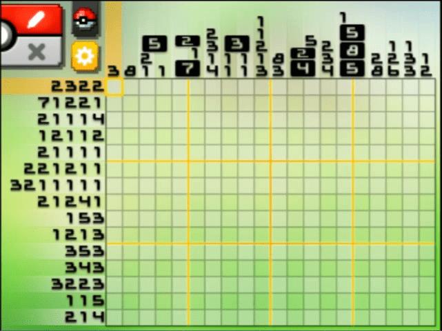 Pokemon picross s04 06 images pokemon images for Pokemon picross mural 02