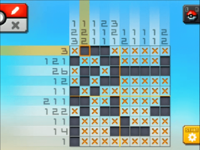 S21 06 a21 07 marill pokemon picross walkthrough gogo for Mural 01 pokemon picross