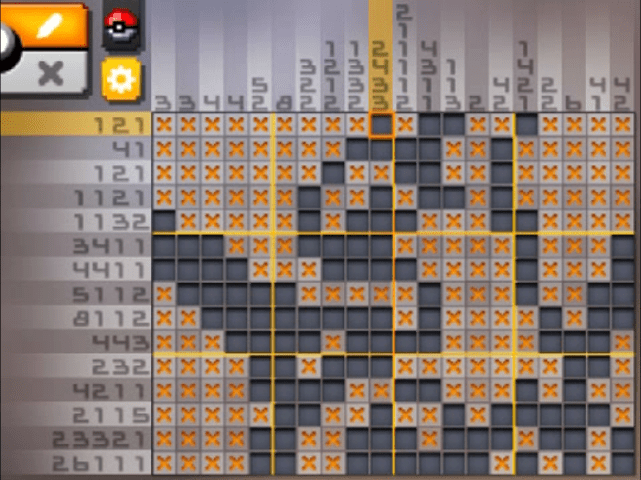 S25 14 a25 02 latias pokemon picross walkthrough gogo for Mural 01 pokemon picross