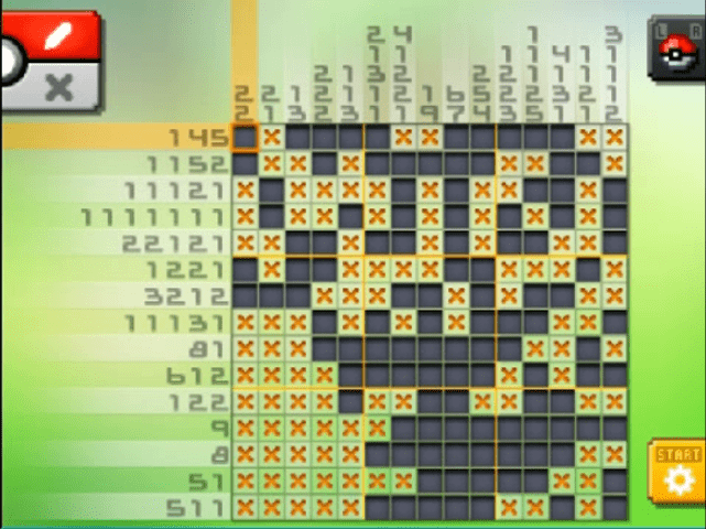 S29 01 a29 05 scolipede pokemon picross walkthrough gogo for Mural 01 pokemon picross